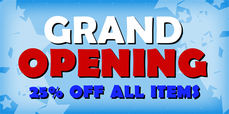 Grand Opening Sale Yard Sign: 535-1