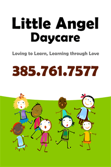 Colorful Kids Daycare A Frame Sign: 877-12