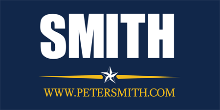 Election Candidate With Website Banner: 540-1