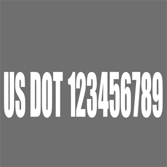 USDOT Grey and White Backdrop: 571-4