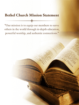 Church Mission Statement Flyer: 1094-7