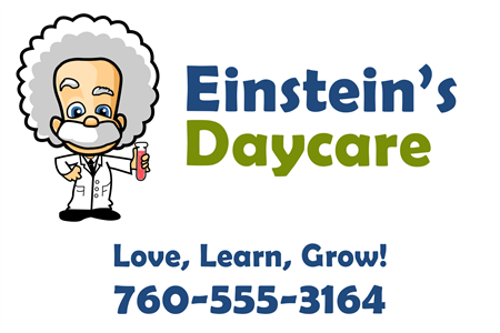 Educational Daycare Rear Window Graphic: 485-8
