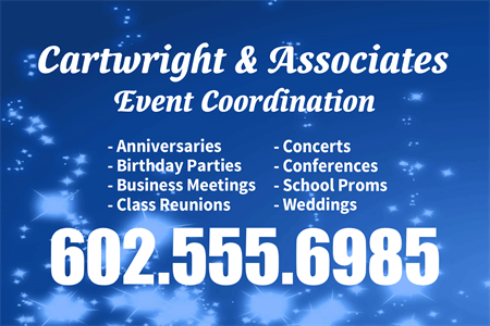 Event Coordinator Rear Window Graphic: 237-8