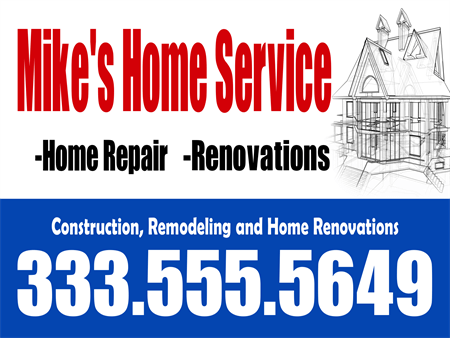 Home Renovation And Repair Car Magnet: 127-3