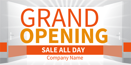 Grand Opening Store Yard Sign: 683-1