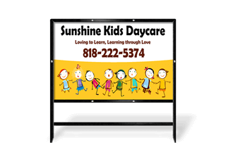 Day Care Yard Signs