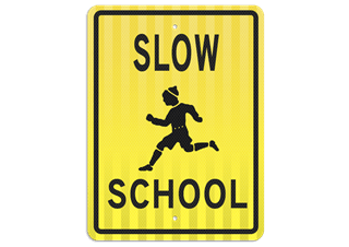 School and Children Safety Signs