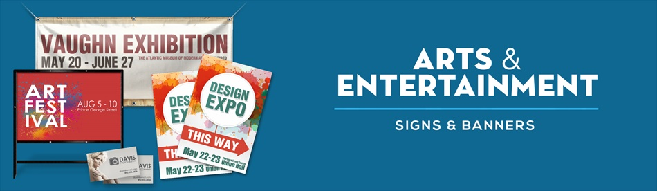 Arts & Entertainment Signs