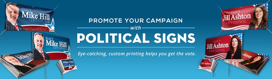 Political Signs Campaign Signs Signazoncom - Custom cool vinyl stickers   for your political campaign