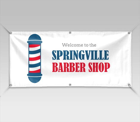 Barbershop Banners Barber Banners Signazon