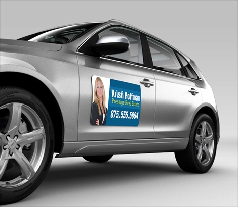 Car Door Magnets For Mobile Advertising Signazoncom - Custom car magnets decals