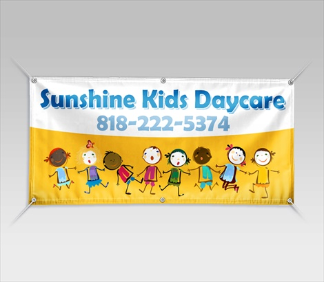 Day Care Banners Child Care Banners Signazon Com
