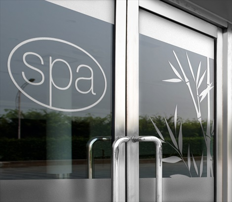 Etched Glass Decals Glass Etching Decals Add Elegance Signazoncom - Vinyl etched glass window decals
