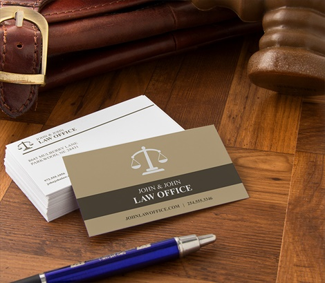 Lawyer Business Cards Attorney Business Cards Signazoncom