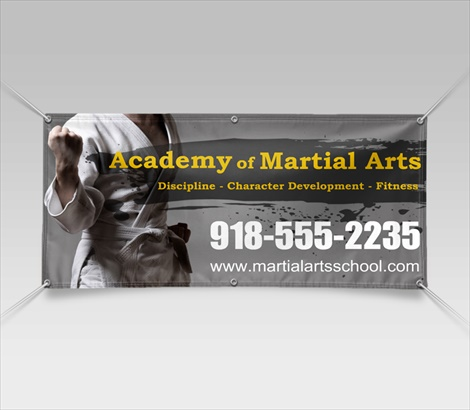 Martial Arts Banners Mma Banners Signazon