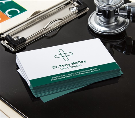 medical business cards - Doctor Business Card