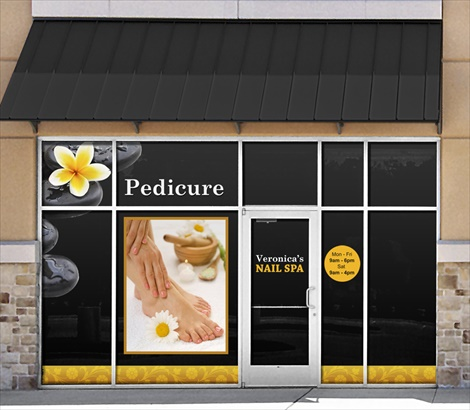 Nail Salon Signs Custom Nail Retail Signs Signazon Com