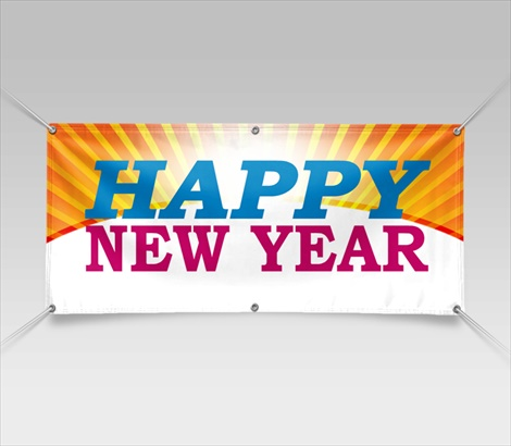 New Year Banners New Years Banners Signazon