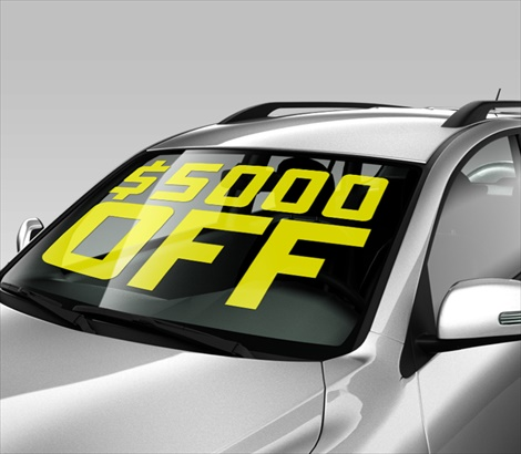Removable car decals
