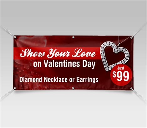 Valentines Day Banners Valentine Banners Signazon