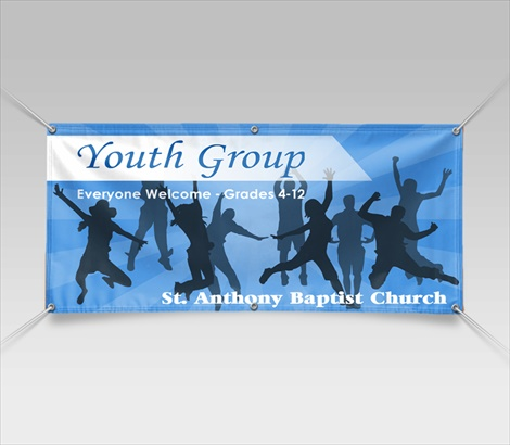 Youth Banners Youth Ministry Banners Signazon